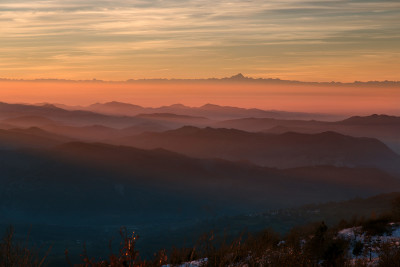 Dal Monte Alpe al Monviso