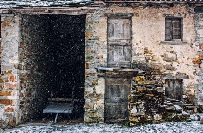 Val Perino, la solitudine della neve