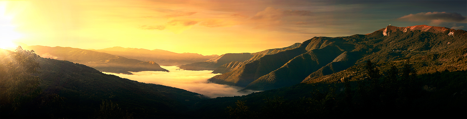 Il Monte Lesima e la Val Trebbia