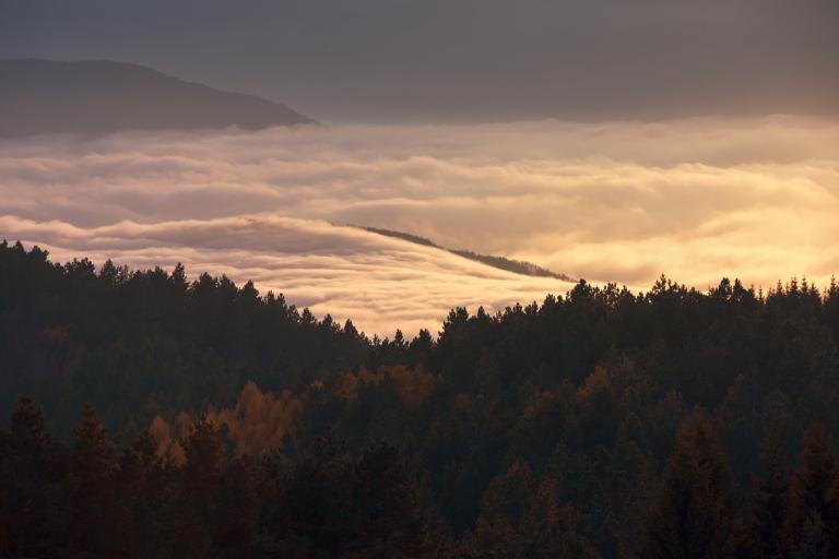 Monte Penice - Mare di Nebbia
