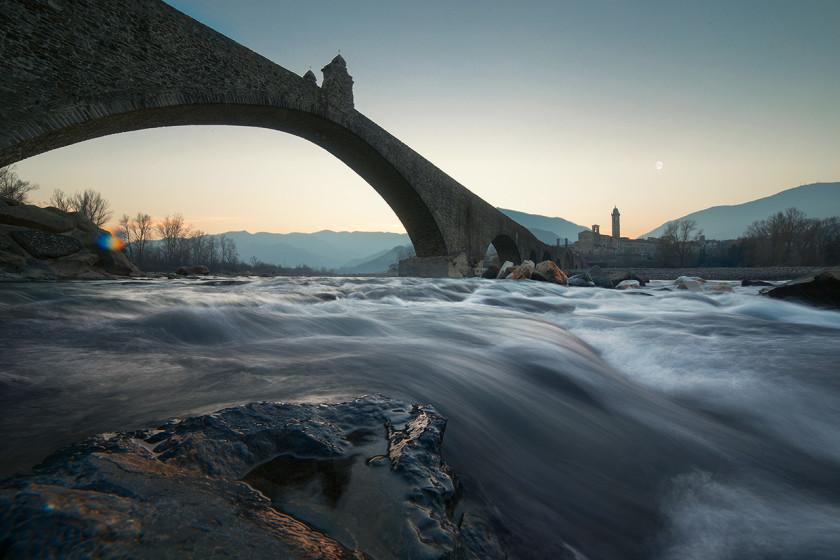 Il Ponte del Diavolo a Bobbio
