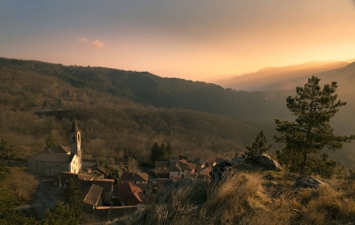 Pregola e il Monte Lesima