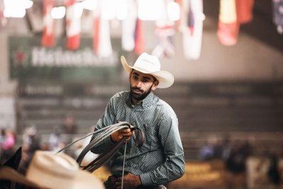 Cowboy al ranch di Voghera
